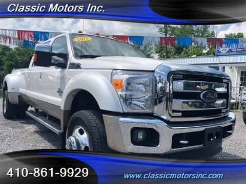 2012 Ford F-450 Super Duty for sale in Finksburg, MD