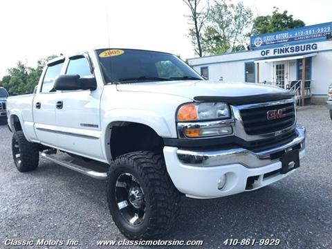 2005 GMC Sierra 2500HD for sale in Finksburg, MD
