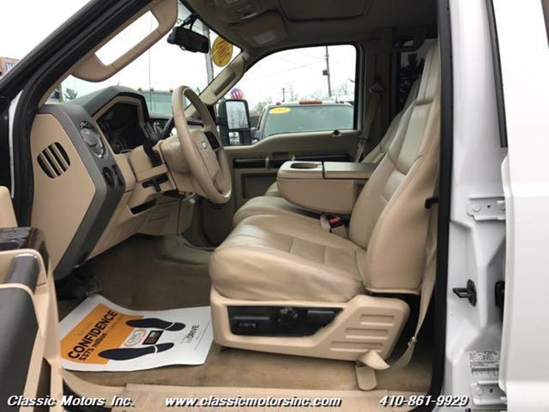 2008 Ford F-250 Super Duty Crew Cab Lariat 4X4 - Finksburg MD