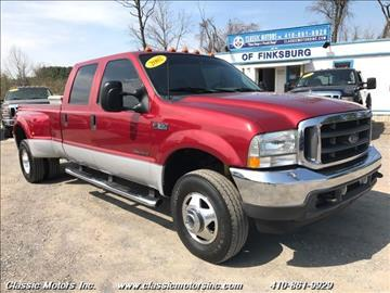2002 Ford F-350 Super Duty for sale in Finksburg, MD
