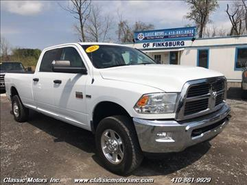 2012 RAM Ram Pickup 2500 for sale in Finksburg, MD