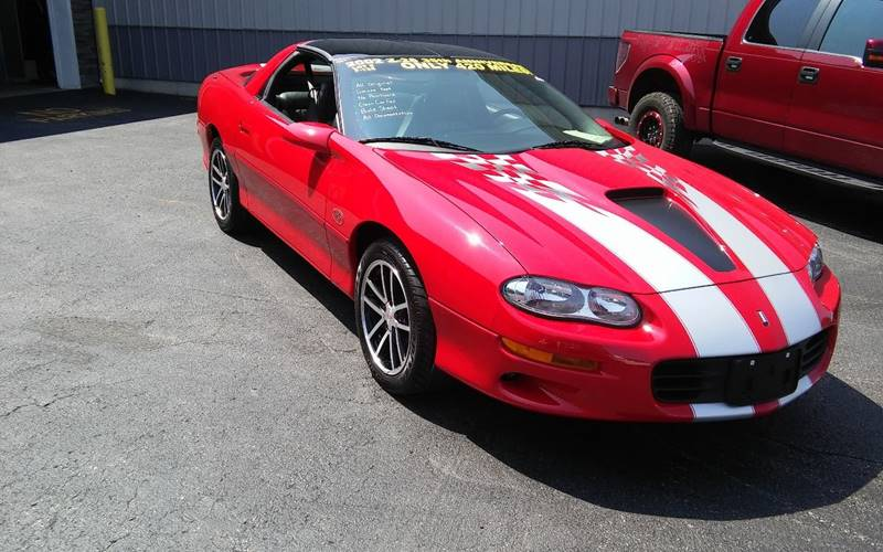 2002 Chevrolet Camaro for sale at Online Auto Connection in West Seneca NY