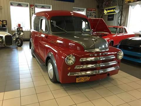 1950 Dodge panel truck