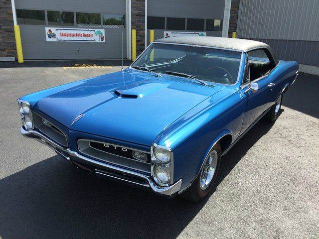 1966 Pontiac GTO for sale at Online Auto Connection in West Seneca NY