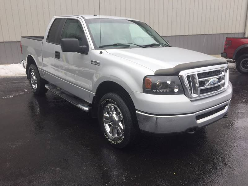 2008 Ford F-150 4x4 XLT 4dr SuperCab Styleside 5.5 ft. SB - West Seneca NY