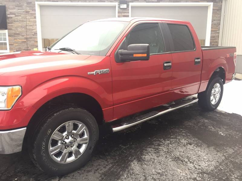 2012 Ford F-150 4x4 XLT 4dr SuperCrew Styleside 5.5 ft. SB - West Seneca NY