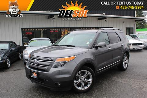 2013 Ford Explorer for sale in Everett, WA