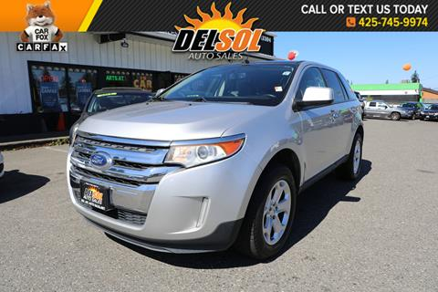 2011 Ford Edge For Sale >> Ford Edge For Sale In Everett Wa Del Sol Auto Sales