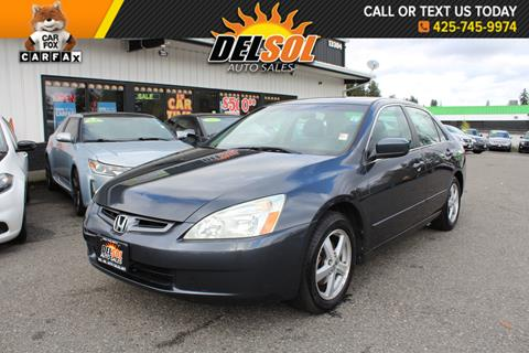 2004 Honda Accord for sale in Everett, WA