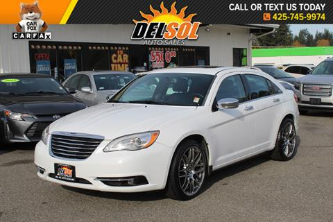 2014 Chrysler 200 for sale in Everett, WA