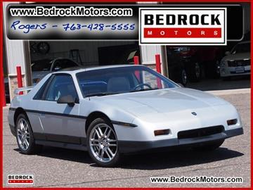 1986 Pontiac Fiero for sale in Rogers, MN