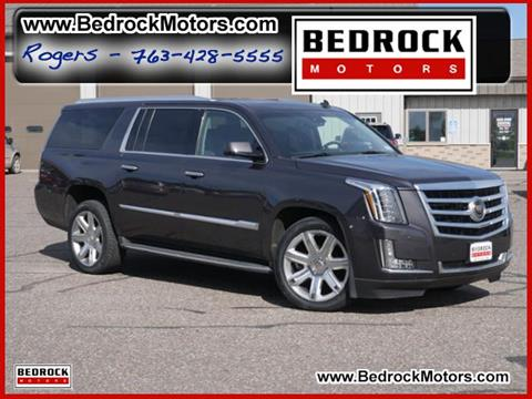 2015 Cadillac Escalade ESV for sale in Rogers, MN