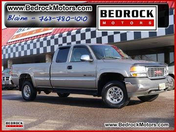 2001 GMC Sierra 2500HD for sale in Rogers, MN