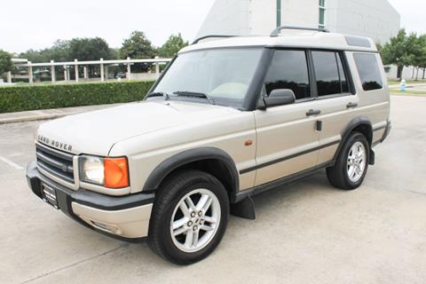 2002 Land Rover Discovery Series II for sale in Houston, TX