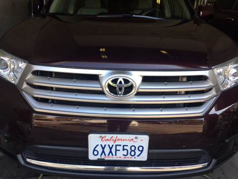 2012 Toyota Highlander for sale in Daly City, CA