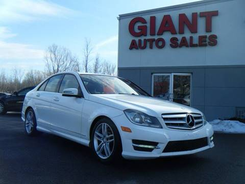 Giant Auto Sales >> 2013 Mercedes Benz C Class For Sale In East Syracuse Ny