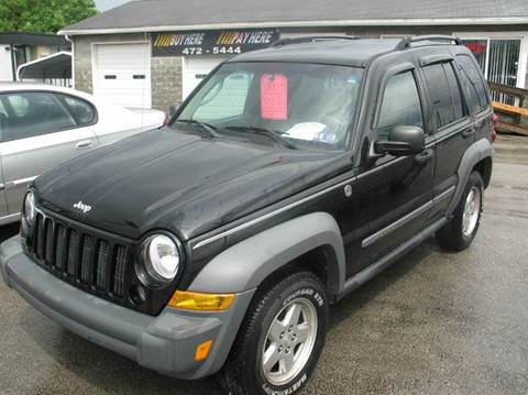 2005 Jeep Liberty for sale at RACEN AUTO SALES LLC in Buckhannon WV
