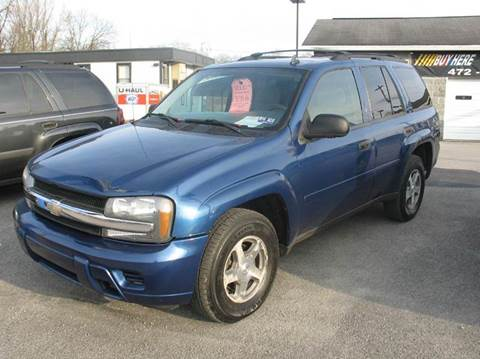 2006 Chevrolet TrailBlazer for sale at RACEN AUTO SALES LLC in Buckhannon WV