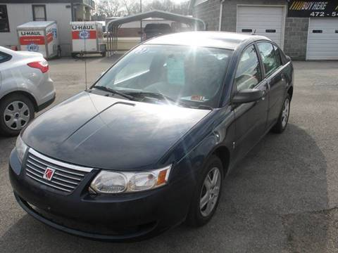 2007 Saturn Ion for sale at RACEN AUTO SALES LLC in Buckhannon WV