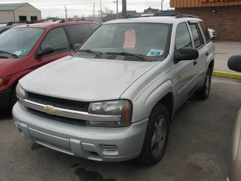 2008 Chevrolet TrailBlazer 4x4 LS Fleet2 4dr SUV - Buckhannon WV