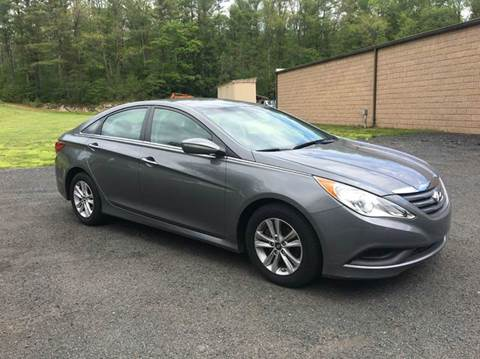 2014 Hyundai Sonata for sale at DON'S AUTO SALES & SERVICE in Belchertown MA