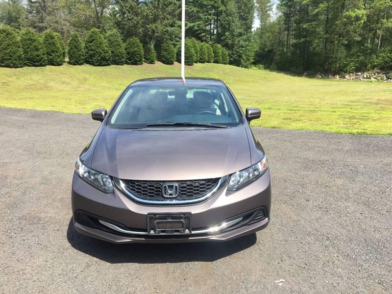 2014 Honda Civic LX 4dr Sedan CVT - Belchertown MA