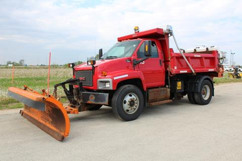 2005 Chevrolet topkick Snow plow truck/dump for sale at AutoLand Outlets Inc in Roscoe IL