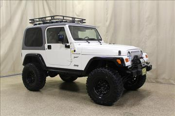 2002 Jeep Wrangler for sale at AutoLand Outlets Inc in Roscoe IL