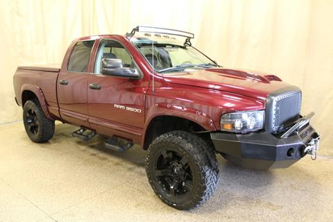 2003 Dodge Ram Pickup 3500 for sale at AutoLand Outlets Inc in Roscoe IL