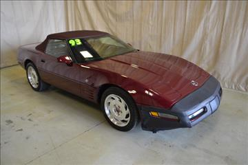 1993 Chevrolet Corvette for sale at AutoLand Outlets Inc in Roscoe IL