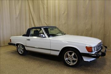 1986 Mercedes-Benz 560-Class for sale at AutoLand Outlets Inc in Roscoe IL