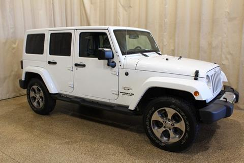 2017 Jeep Wrangler Unlimited for sale at AutoLand Outlets Inc in Roscoe IL