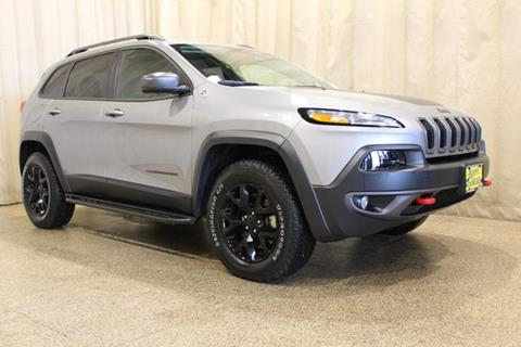2015 Jeep Cherokee for sale at AutoLand Outlets Inc in Roscoe IL