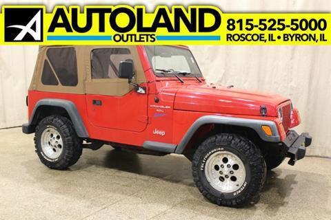 1998 Jeep Wrangler for sale in Roscoe, IL
