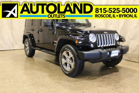2018 Jeep Wrangler Unlimited for sale in Roscoe, IL