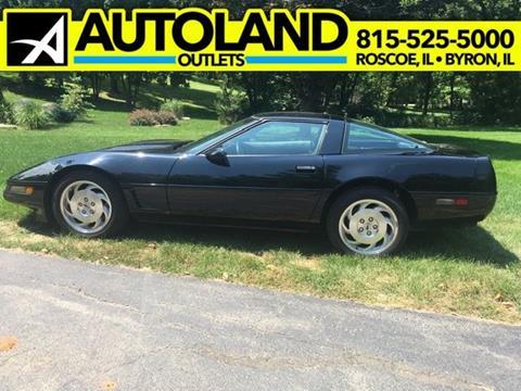 1996 Chevrolet Corvette for sale in Roscoe, IL