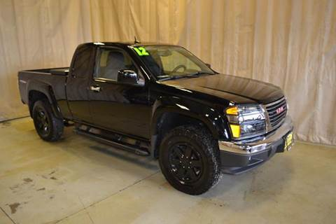 2012 GMC Canyon for sale at AutoLand Outlets Inc in Roscoe IL