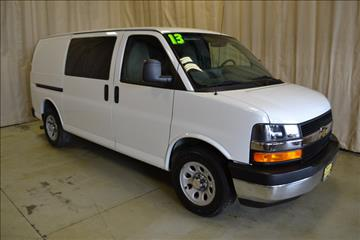 2013 Chevrolet Express Cargo for sale at AutoLand Outlets Inc in Roscoe IL