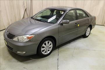 2003 Toyota Camry for sale at AutoLand Outlets Inc in Roscoe IL