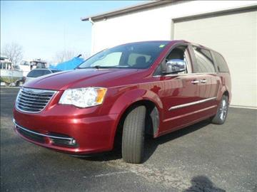 2014 Chrysler Town and Country for sale at AutoLand Outlets Inc in Roscoe IL