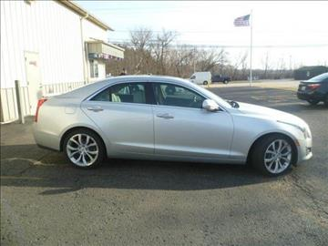 2013 Cadillac ATS for sale at AutoLand Outlets Inc in Roscoe IL