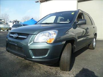 2009 Kia Sportage for sale at AutoLand Outlets Inc in Roscoe IL
