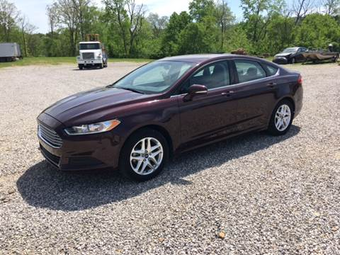 2013 Ford Fusion for sale in Liberty, KY