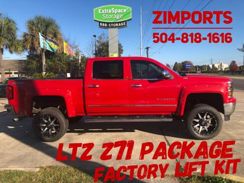 2014 Chevrolet Silverado 1500 LTZ Z71 for sale at A to Z IMPORTS in Metairie LA