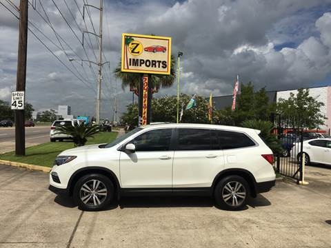 2017 Honda Pilot EX-L for sale at A to Z IMPORTS in Metairie LA