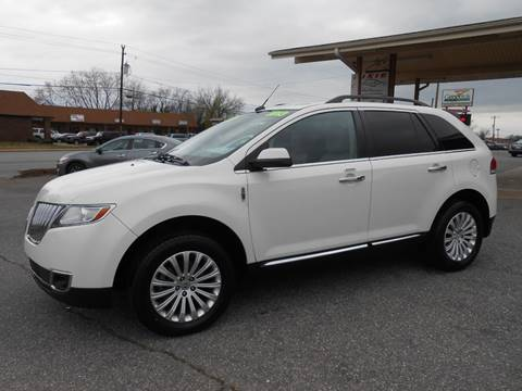 2013 Lincoln MKX for sale in Hickory, NC