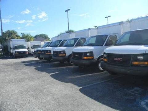 2011 GMC Savana Cutaway for sale at Longwood Truck Center Inc in Sanford FL