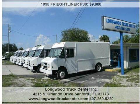1998 FRIEGHTLINER P30 for sale at Longwood Truck Center Inc in Sanford FL