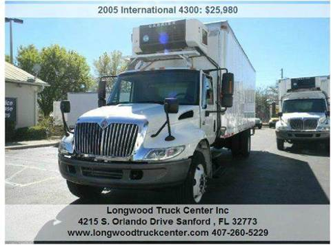 2005 International 4300 for sale at Longwood Truck Center Inc in Sanford FL