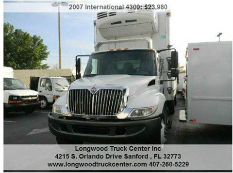 2007 International 4300 for sale at Longwood Truck Center Inc in Sanford FL